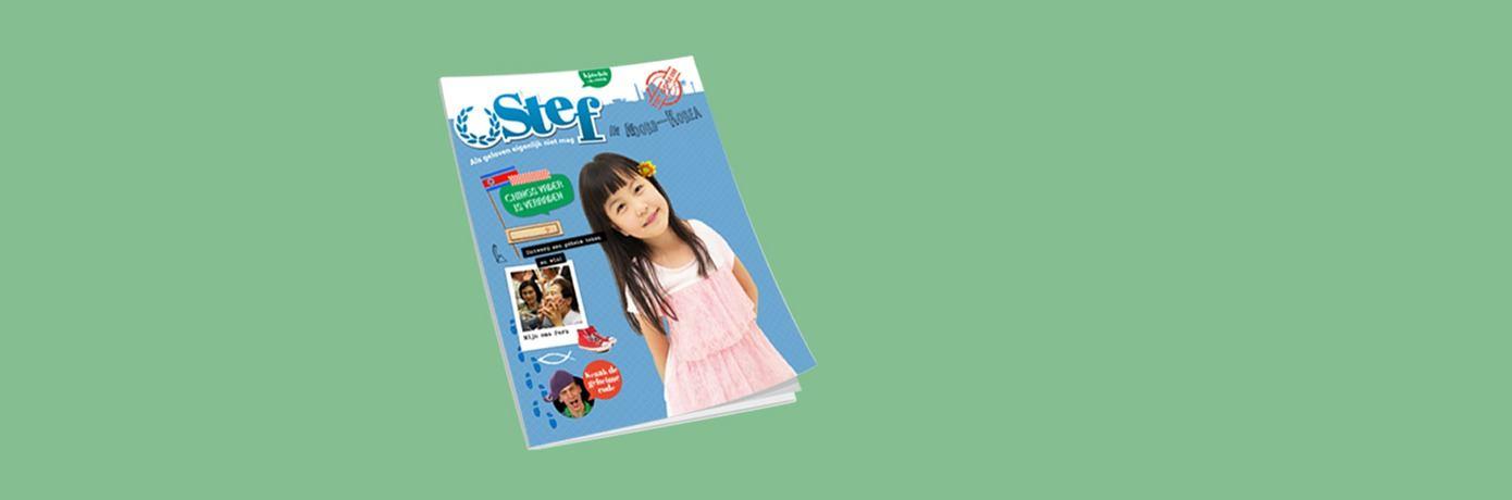 Gratis magazine Stef